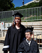 Transition - Adam and Araya graduating high school
