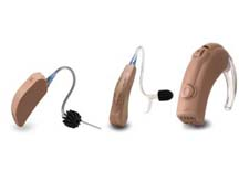 assorted hearing aids